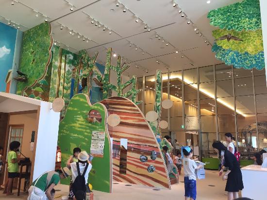 Mie Prefectural Museum: 三重県立博物館 無料プレイスペース