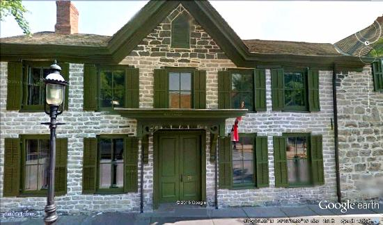 Kingston, NY: Front view of Matthewis Persen House (source Google Maps)
