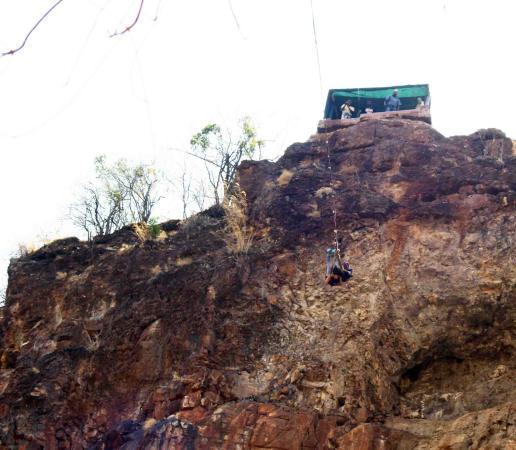 Zambezi Eco Adventures: gorge swing 2
