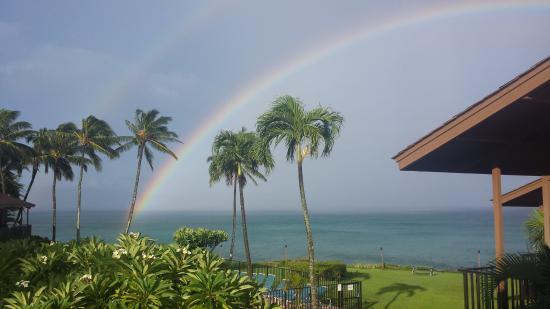 Polynesian Shores: The view from lanai