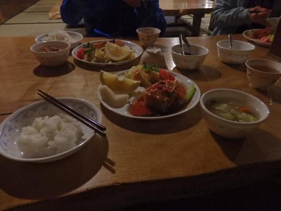 Akadake Kosen: 夕食