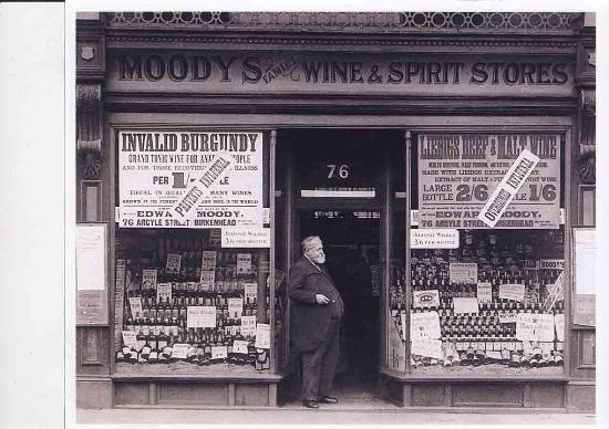 Strummers: the old shop 1908