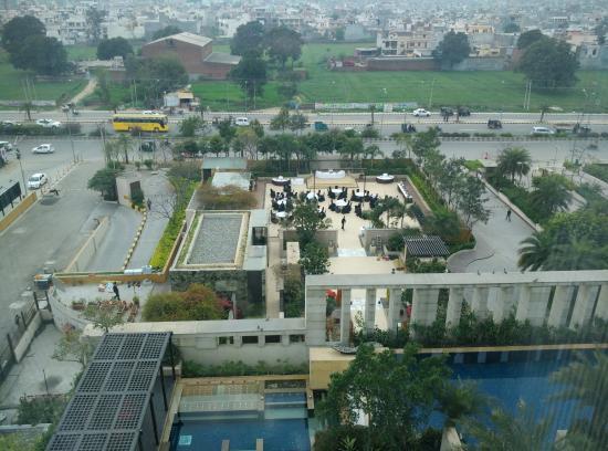 View From The Upper Layer Picture Of Hyatt Amritsar Amritsar Tripadvisor