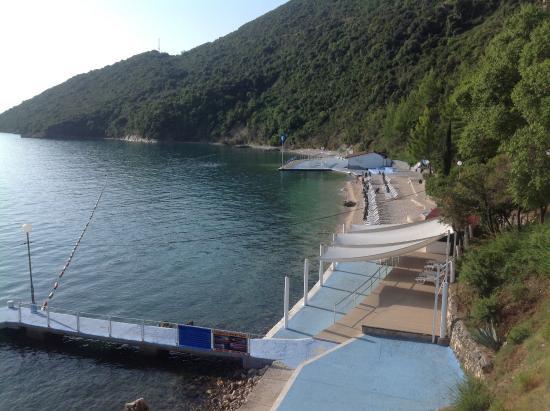 Precise Club Hotel Riviera Montenegro: Plage