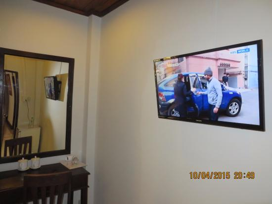 "Golden Lotus Place: TV 32"" LCD in room"