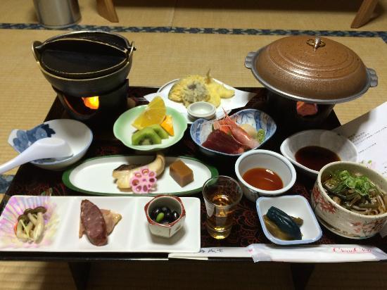 Honbetsu-cho, Japan: 夕食