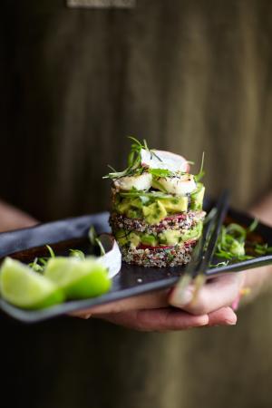 Gaia Retreat & Spa: Gourmet Cuisine
