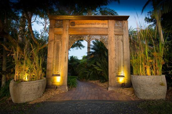 Gaia Retreat & Spa: Gaia Entrance