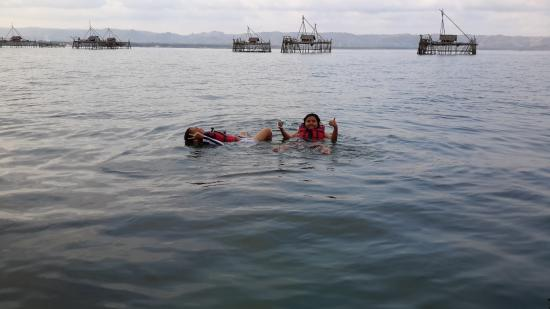 Nyiur Indah Beach Hotel : Snorkeling at Pantai Pasir Putih Pangandaran