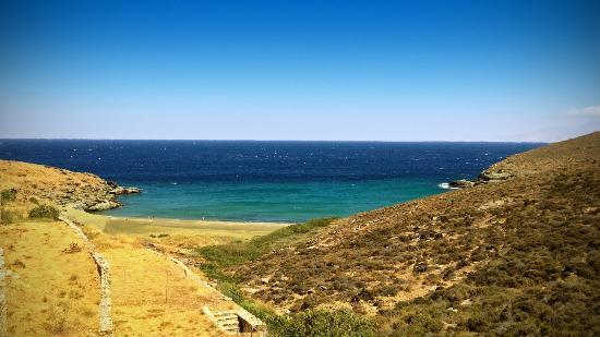 Ormos Agiou Ioannou, Grécia: Παραλία Παχιά Άμμος