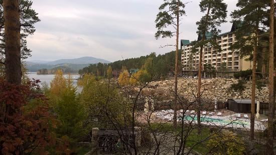 FonGrad SPA Hotel: Вид на аппартаменты Тургояк Сити