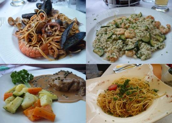 Residence Vecchio Porto Excelsior: морепродукты,мясо,паста - все очень вкусно!