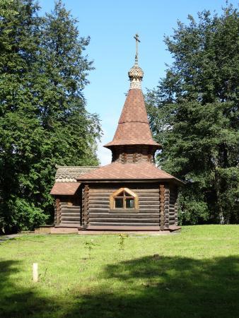 Danilov, Russland: часовня в память погибших даниловцев