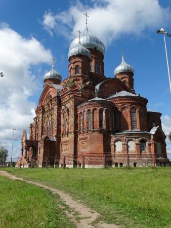 Danilov, Russland: Казанский собор