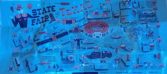 Map Picture Of Fair Park Dallas Tripadvisor