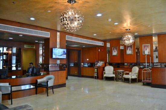 Grand Safir Hotel: lobby