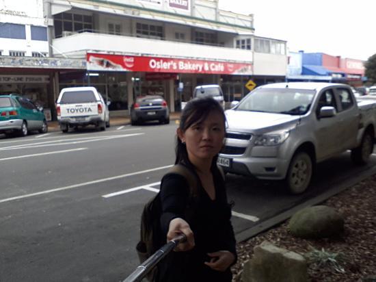 Wairoa, New Zealand: behind me :-)