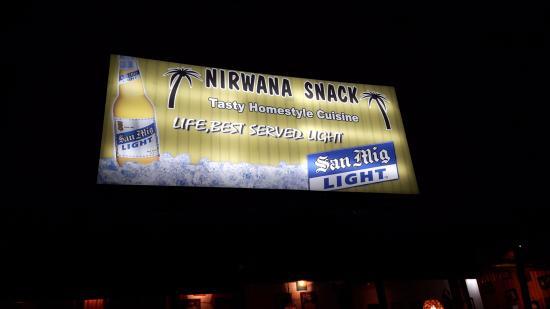 Nirwana Snack: The sign   hehehe