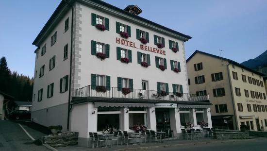 Bellevue Hotel: Voorkant hotel