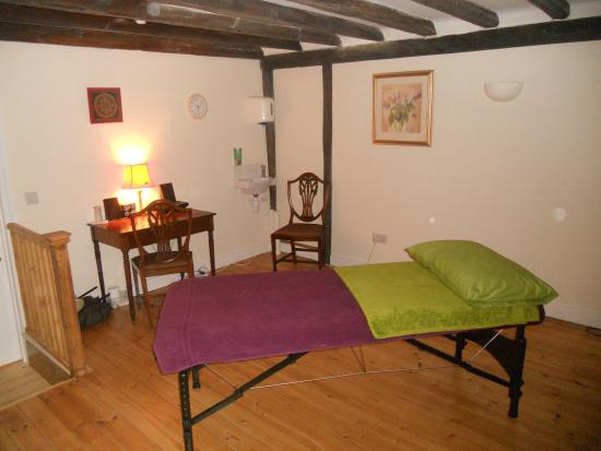 Biggleswade, UK: Relaxing therapy rooms