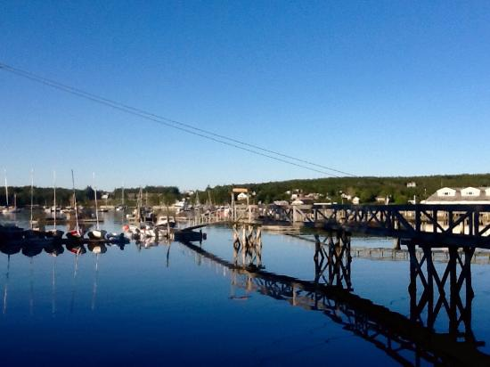 Pier One Vacation Rentals: The view from the deck at Fok-Sul