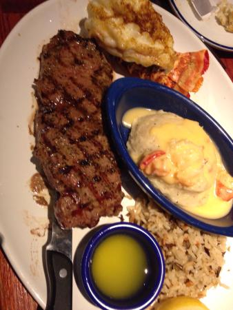 Red Lobster Steak And Yum