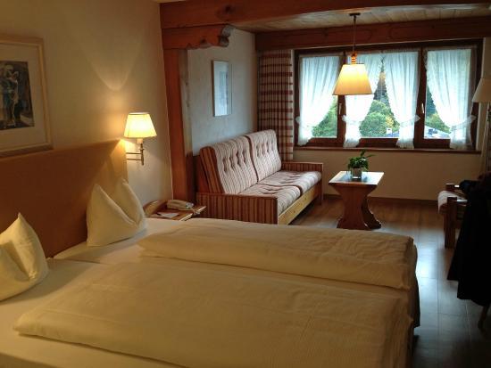 Hotel Restaurant Steinbock: Room 324