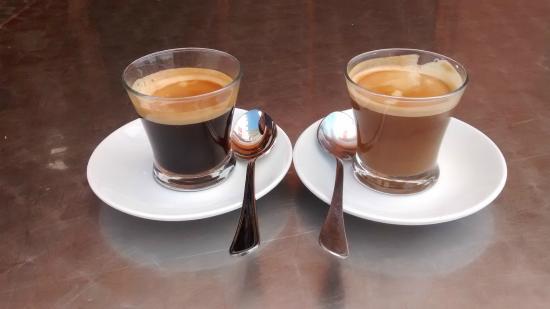 café solo - café cortado