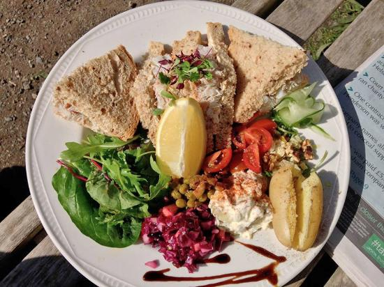 Fat Apples Cafe: Helford crab sandwiches
