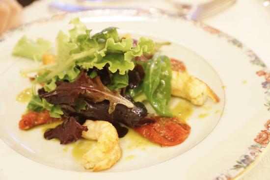 L'Aigle d'Or : Langoustine salad