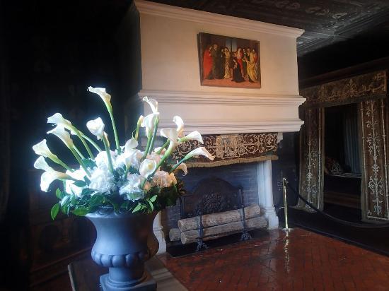 Château de Chenonceau : chambre de Louise de Lorraine
