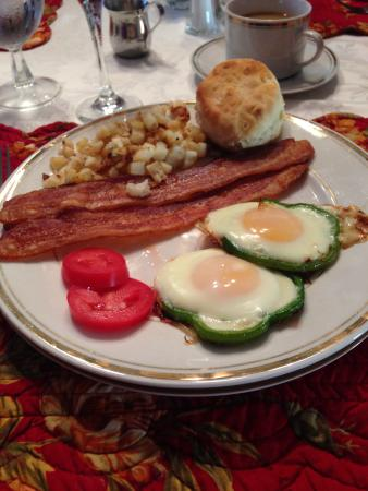 The Hill House: Main breakfast - day 3
