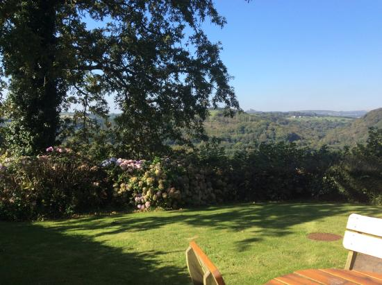 Green Acres Cottages: View from the garden