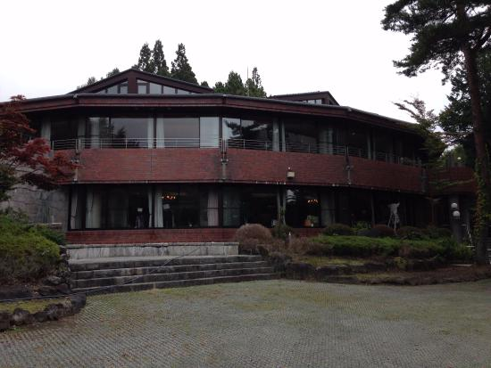 Yamanakako Shuzanso: 施設前景