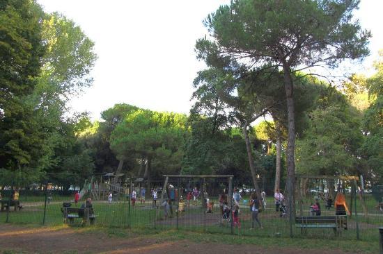 Viareggio, Włochy: Детская площадка
