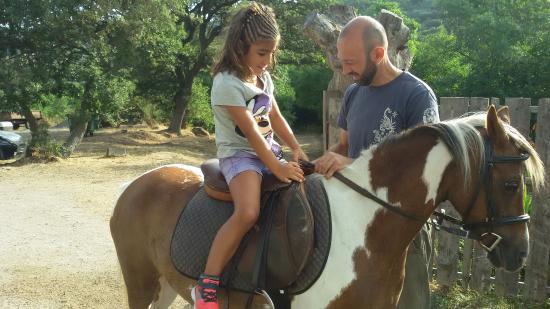 Bonorva, Italia: Esperienza con il pony