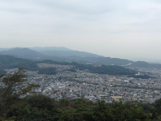 Higashi-mikawa Furusato Park: 東三河ふるさと公園山頂からの景色