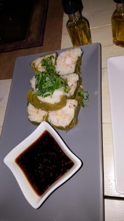 Plaka, Griekenland: spicy prawn sushi