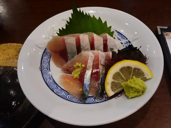 ハーブ鯖の刺身。 - 長崎市、さ...