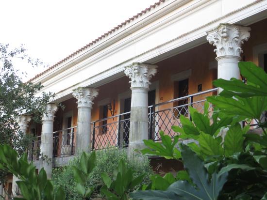Jardin interieur picture of la villa gallo romaine hotel restaurant les ep - Hotel villa gallo romaine ...