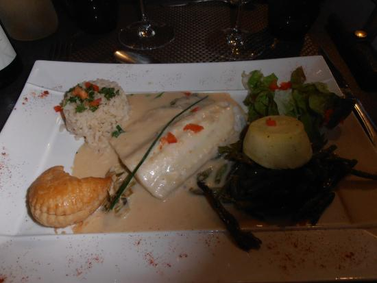 Sance, Frankrig: The fish main course
