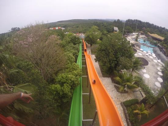 Aguas de Sao Pedro, SP: Lá de cima