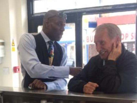 C Fresh Fish and Chips: Frank Bruno & lee shaw