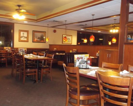 Denny's: De notre table