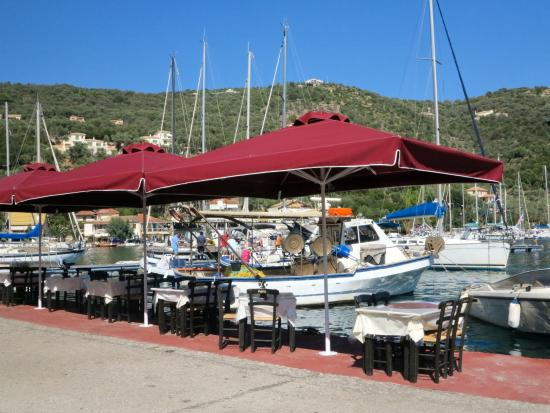 Sivota, Yunani: Restaurante