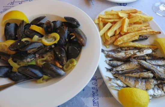 Sivota, Yunani: nossos pratos