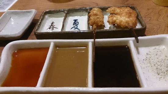 Kushiage Shop Saisai Sin Osaka