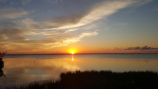 Sunset at the Coastal Cantina
