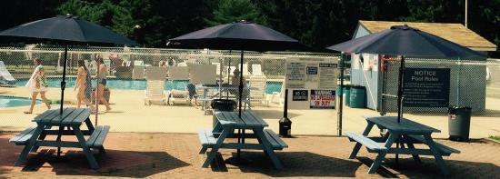 Port Republic, Nueva Jersey: Picnic and Pool...great combination for fun