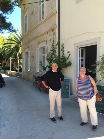 Sipanska Luka, Kroasia: Best restaurant on Sipan